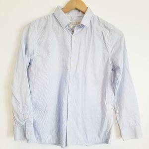 4/$30 Zara boys cotton twill slim fit shirt